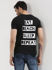 GARCON  Back Print T-Shirt With Patch Pocket - 89375_2_2