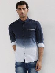 FLYING MACHINE  Ombre Dyed Shirt
