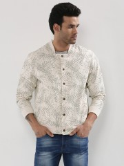 KOOVS  Faded Palm Bomber In The Style Of Justin Bieber