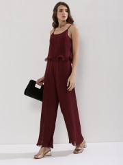 ORIGAMI LILY  Overlay Jumpsuit