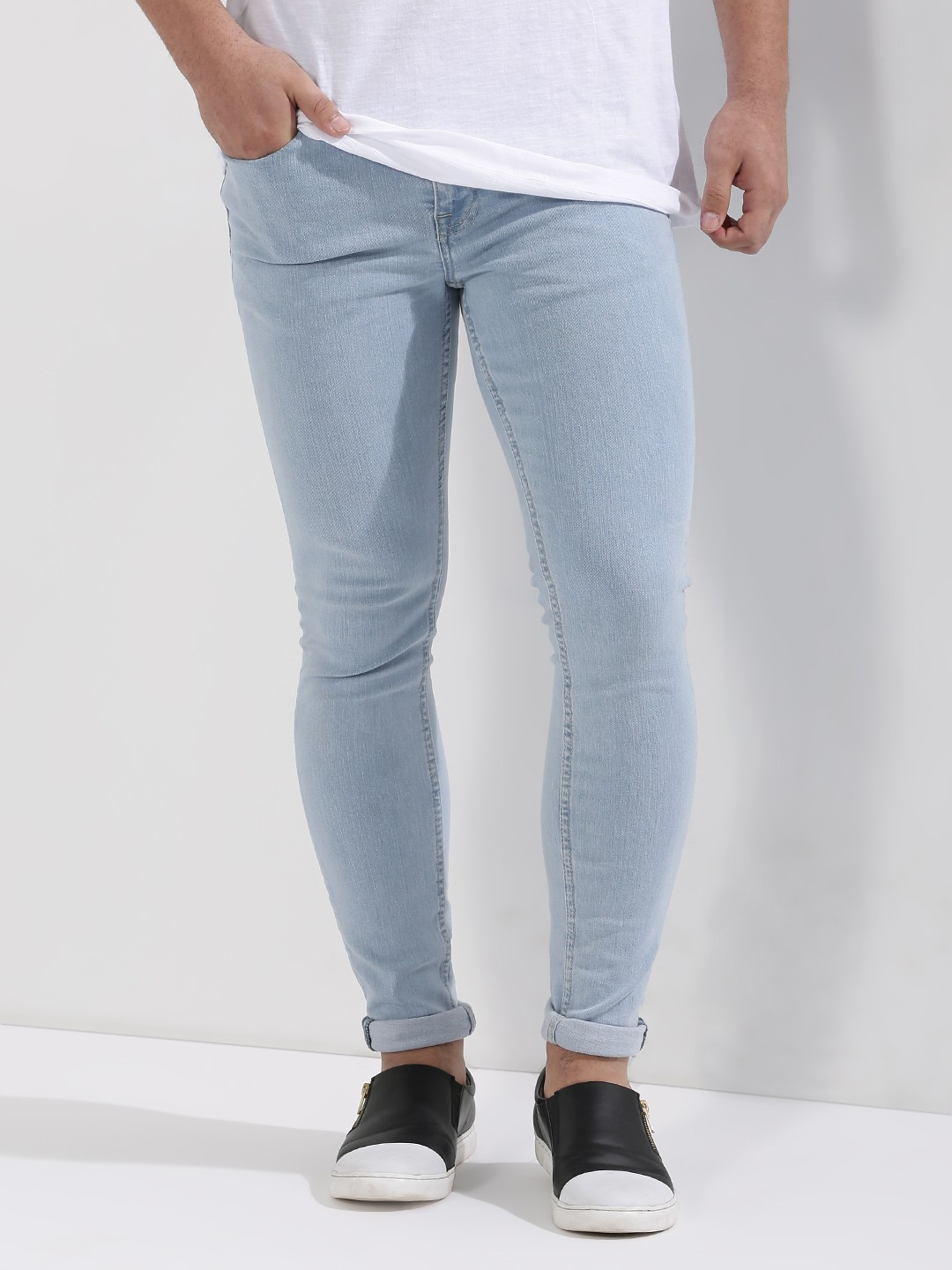 Buy New Look Light Wash Super Skinny Jeans For Men Men S