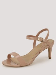 NEW LOOK  Ankle Strap Mid Rise Heels - 91082