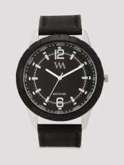WATCH ME  Analog Watch With Synthetic Leather Strap - 92236