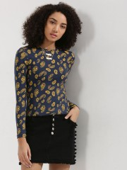 SBUYS  Paisely Print Full Sleeve Top