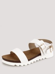 MY FOOT COUTURE  Buckle Detail Sandals