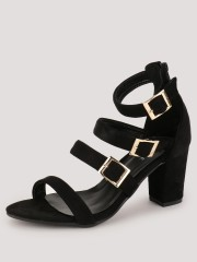MY FOOT COUTURE  Buckle Detail Heeled Sandals - 94039_2_2