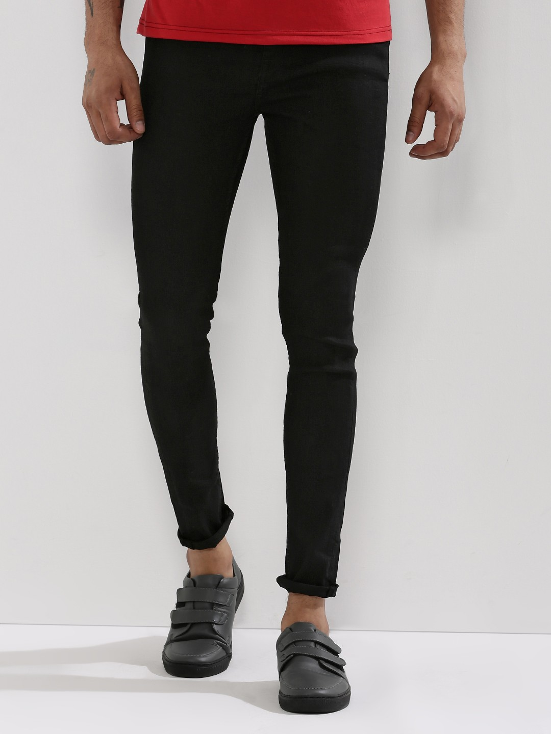 Buy NEW LOOK Super Skinny Jeans For Men - Men's Black Skinny Jeans ...