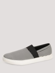 TREAD  Slip-ons With Striped Elastic Detailing