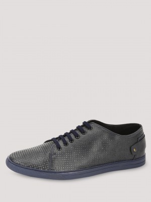 TREAD  Sneakers With Perforations With Metallic Lining
