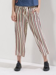 ONLY  Tie Waist Palazzo Pants