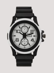 WATCH ME Sports Watch With Rubberised Strap - 95300