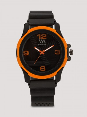 WATCH ME Sports Watch With Rubberised Strap