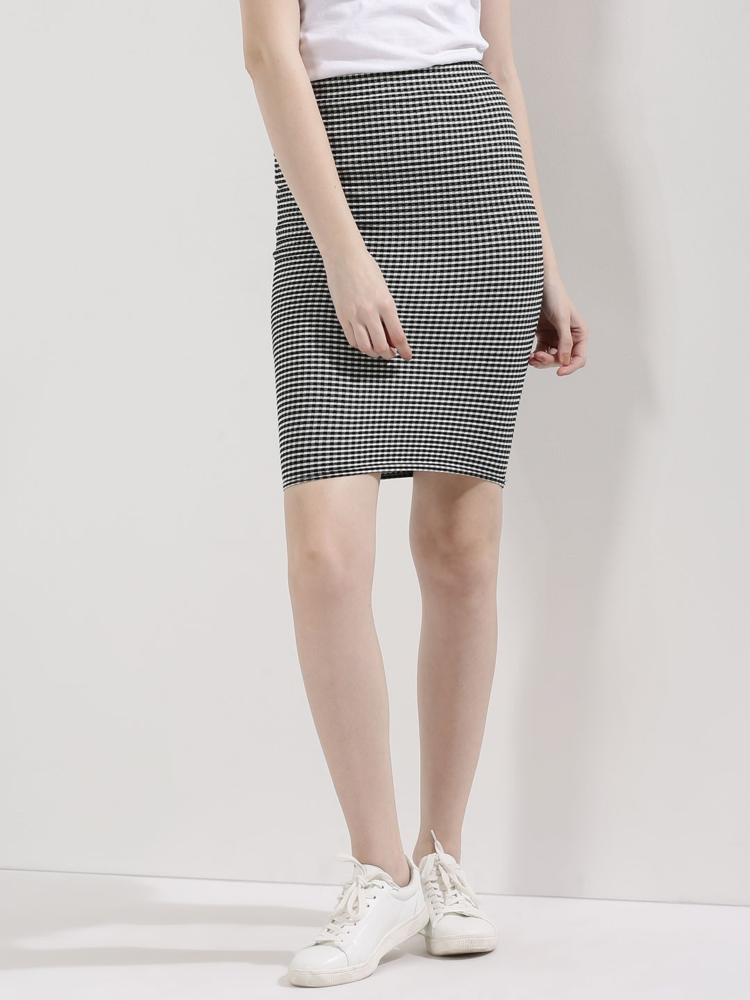 buy new look gingham pencil skirt for s