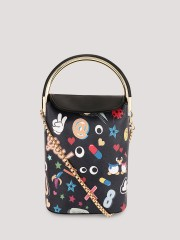 ORIGAMI LILY  Quirky Patch Print Sling Bag - 96444_2_2
