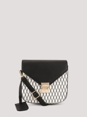 ORIGAMI LILY  Colour Blocked Sling Bag - 96454