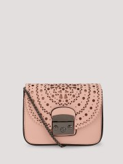 ORIGAMI LILY  Cutwork Detail Sling Bag