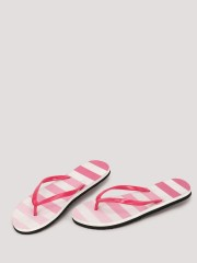 SOLE STORY  Ombre Striped Flipflops (Set Of 2)