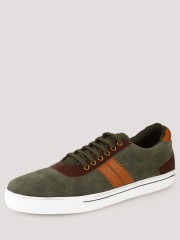 HECKLER  Sneakers With Contrast Panel - 96575