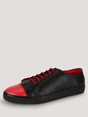 TREAD  Sneakers With Perforated Detailing And Contrast Toe Cap