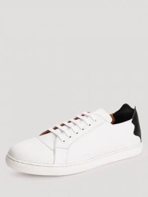 GRIFFIN  Casual Sneakers With Contrast Detailing On Heel Cap