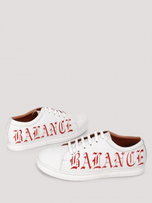 GRIFFIN  Sneakers With Gothic Fonts Print