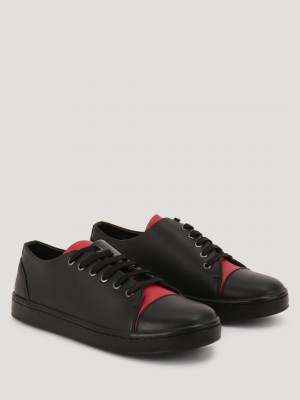 GRIFFIN  Sneakers With Contrast Tongue