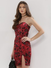 COVER STORY  Printed Bodycon Dress