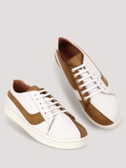GRIFFIN  Split Sneakers With Dual Colour Paneling