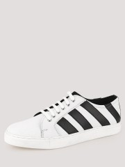 TREAD  Sneakers With Contrast Sliced Detailing