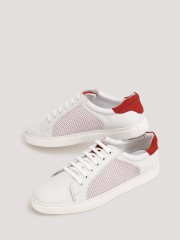 TREAD  Casual Sneakers With Mesh Panel Detailing