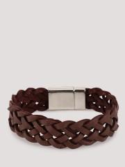 WANDERLUST  Woven Bracelet With Metallic Closure