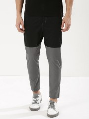 SPRING BREAK  Color Block Cropped Trousers