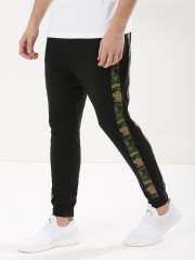 SPRING BREAK  Joggers With Side Camo Panel