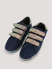 MY FOOT COUTURE  Glitter Detail Trainers