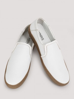 KOOVS  Slip-Ons With Contrast Sole